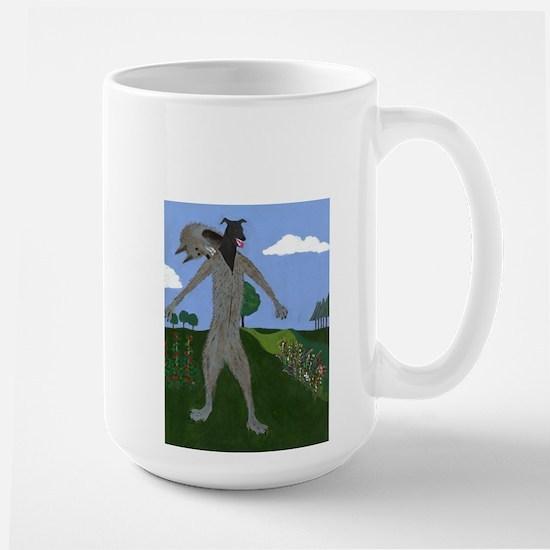 Sophie's Wolf sized Large Mug