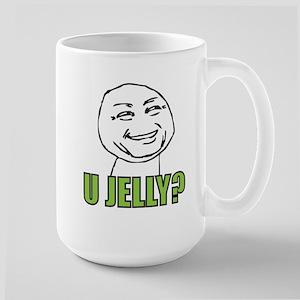 U Jelly? Large Mug