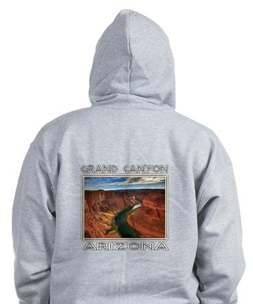 Grand Canyon, Arizona Zip Hoodie