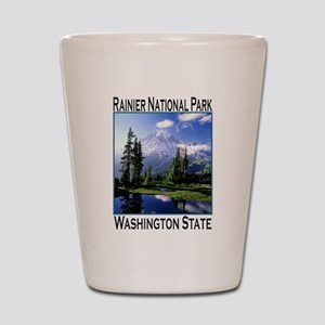 Mt Raineer National Park Shot Glass