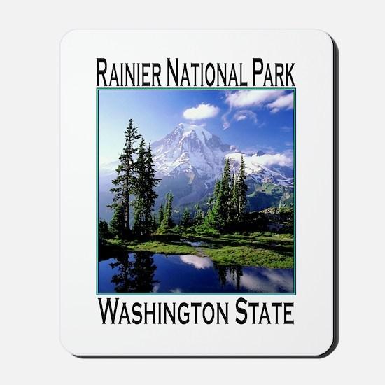 Mt Raineer National Park Mousepad