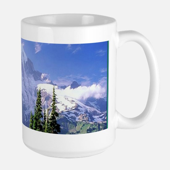 Mt Raineer National Park Large Mug