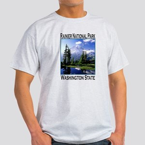 Mt Raineer National Park Light T-Shirt