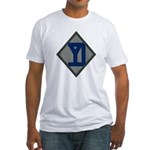 26th Infantry Yankee Div Fitted T-Shirt