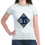 26th Infantry Yankee Div Jr. Ringer T-Shirt