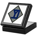 26th Infantry Yankee Div Keepsake Box