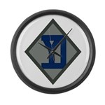 26th Infantry Yankee Div Large Wall Clock