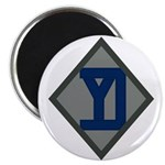 26th Infantry Yankee Div Magnet