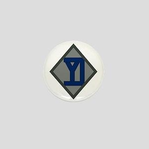 26th Infantry Yankee Div Mini Button