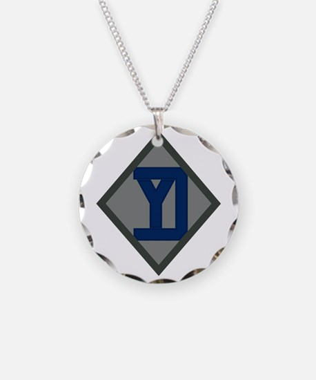 26th Infantry Yankee Div Necklace