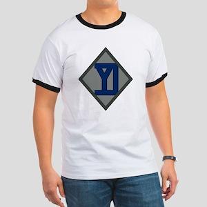 26th Infantry Yankee Div Ringer T