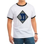 26th Infantry Yankee Div Ringer T