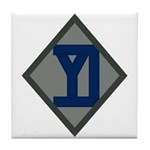26th Infantry Yankee Div Tile Coaster