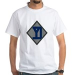 26th Infantry Yankee Div White T-Shirt