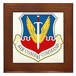 Air Combat Command Framed Tile