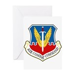 Air Combat Command Greeting Card