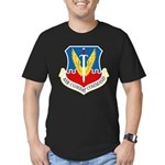 Air Combat Command Men's Fitted T-Shirt (dark)
