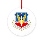 Air Combat Command Ornament (Round)