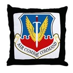 Air Combat Command Throw Pillow