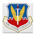 Air Combat Command Tile Coaster
