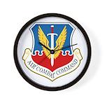 Air Combat Command Wall Clock