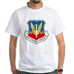 Air Combat Command White T-Shirt