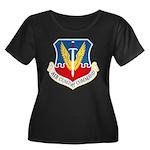 Air Combat Command Women's Plus Size Scoop Neck Da