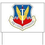 Air Combat Command Yard Sign
