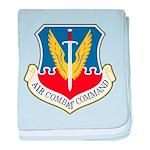Air Combat Command baby blanket