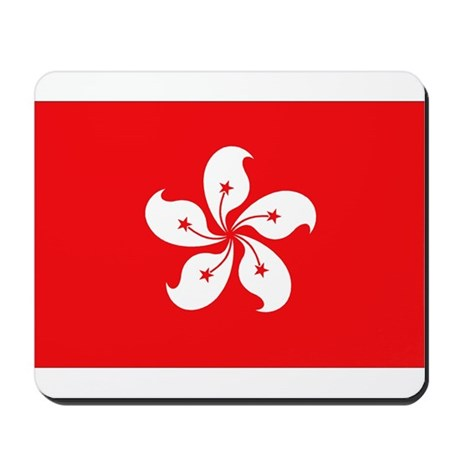 Hong Kong Flag Mousepad