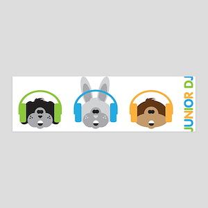 Junior Dj - Puppy - 42x14 Wall Peel