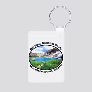Olympic National Park Aluminum Photo Keychain