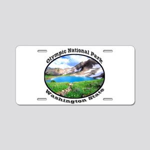 Olympic National Park Aluminum License Plate