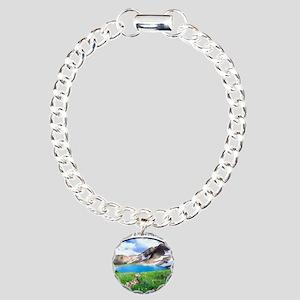 Olympic National Park Charm Bracelet, One Charm