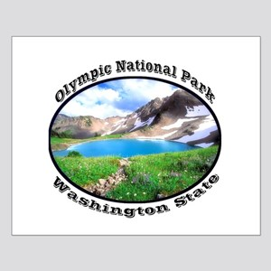 Olympic National Park Small Poster