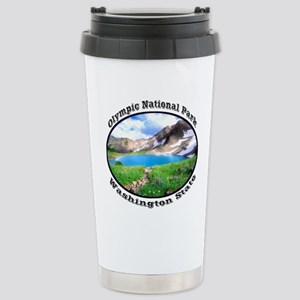 Olympic National Park Stainless Steel Travel Mug