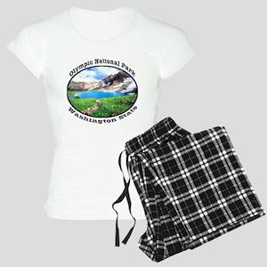 Olympic National Park Women's Light Pajamas