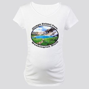 Olympic National Park Maternity T-Shirt