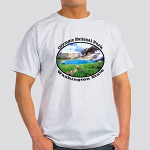 Olympic National Park Light T-Shirt