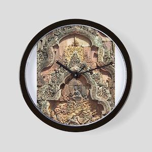 Banteay Srei Temple Chandi Wall Clock