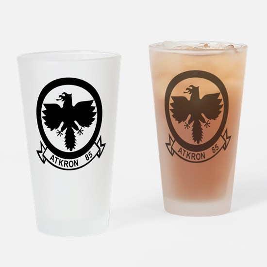Cute Air force falcons Drinking Glass