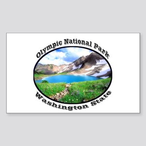 Olympic National Park Sticker (Rectangle)
