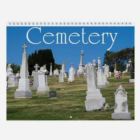 Cemetery Wall Calendar