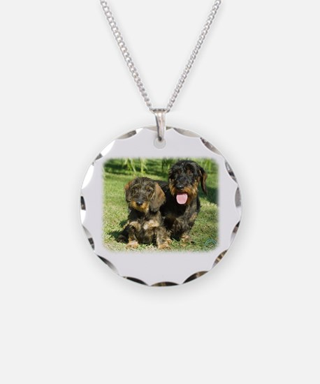 Dachshunds 9F18D-07 Necklace