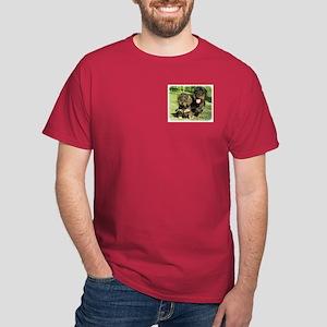 Dachshunds 9F18D-07 Dark T-Shirt