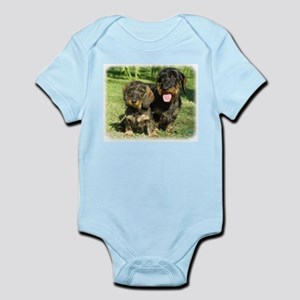 Dachshunds 9F18D-07 Infant Bodysuit