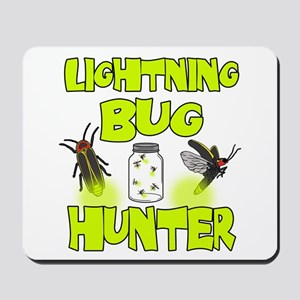 Lightning Bug Hunter Mousepad