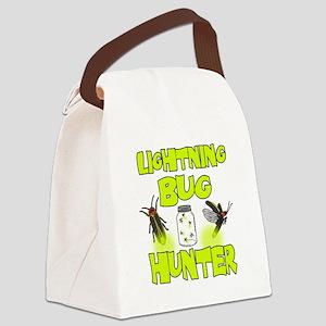 Lightning Bug Hunter Canvas Lunch Bag