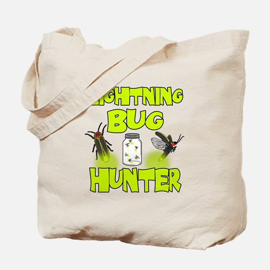 Lightning Bug Hunter Tote Bag
