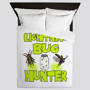 Lightning Bug Hunter Queen Duvet